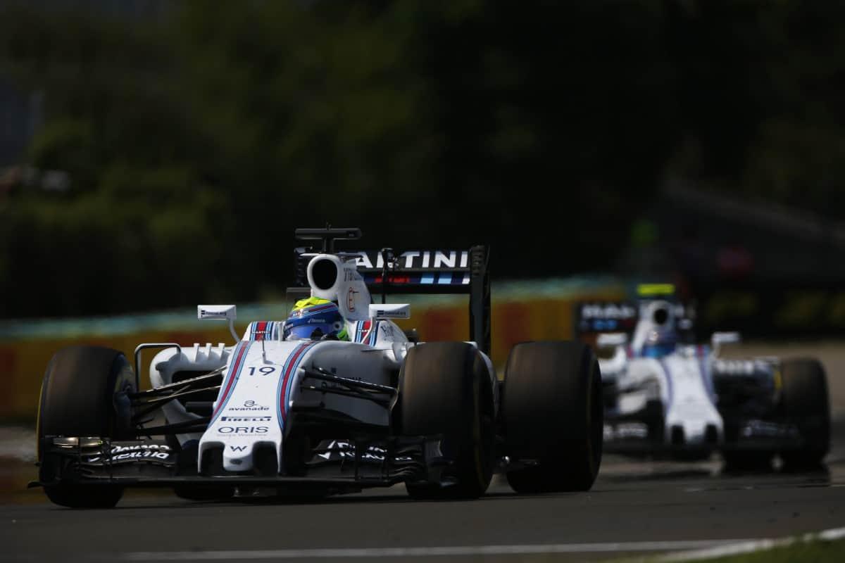 A equipe Williams já não mostra a mesma competitividade das temporadas recentes (FOto Williams/LAT)