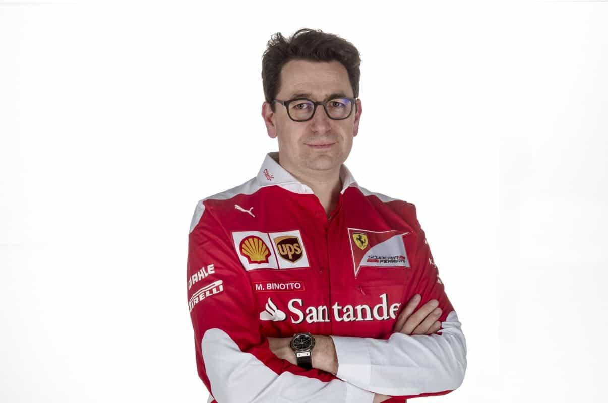 Mattia Binotto, especializado em motores, é o novo diretor técnico da Ferrari (Foto Ferrari)