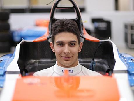 Esteban Ocón estreia na F-1 no GP da Bélgica (Foto Manor)