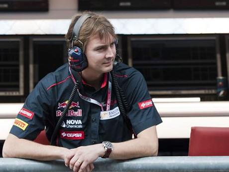 James Key, cria da equipe Jordan, é o novo queridinho entre os engenheiros (Foto Red Bull)