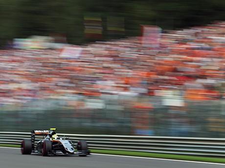 Sergio Perez deve sair da Force India, equipe em franca ascensão (Foto Sahara Force India)