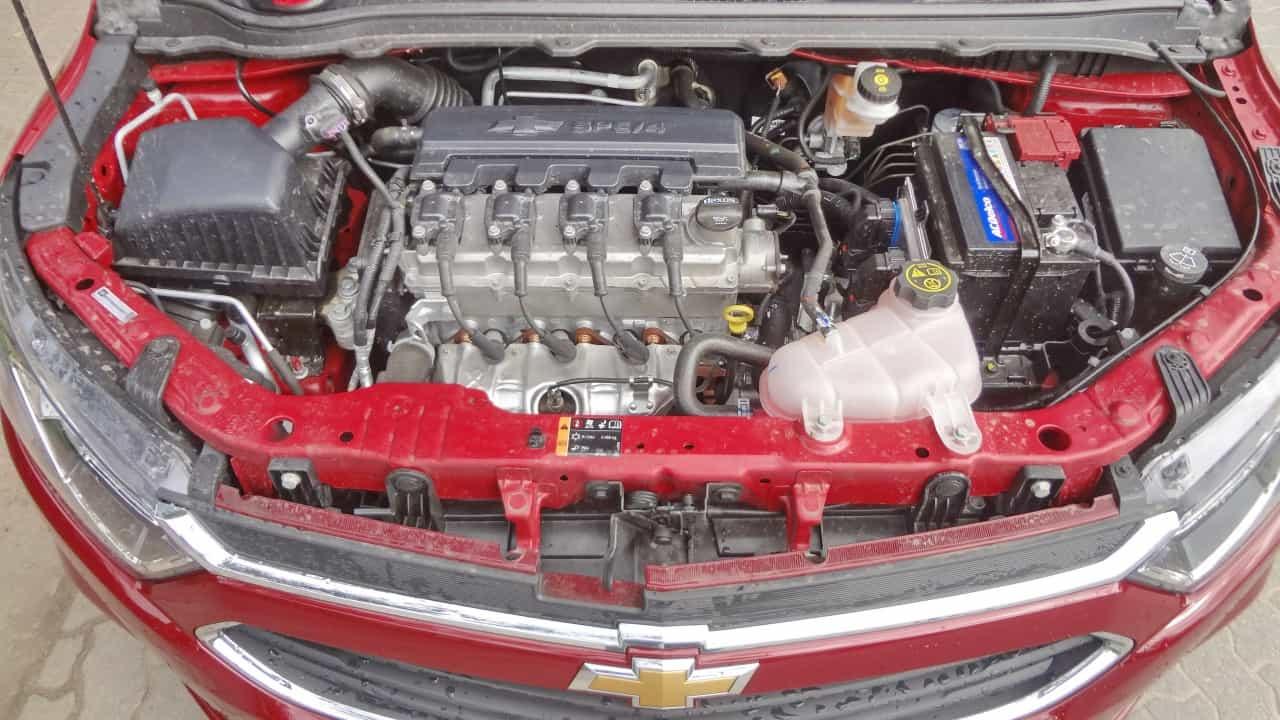 O excelente câmbio automático valoriza o motor de 1,4 litro