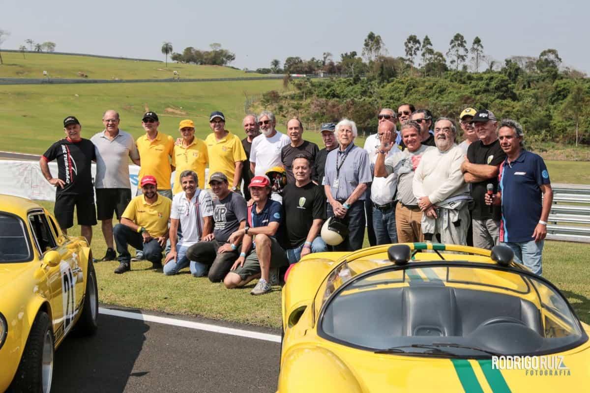 Veteranos do automobilismo marcaram presença nos 500 Km (Foto Endurance Brasil)