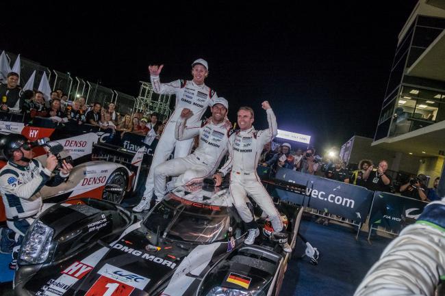 Terceira vitória consecutiva da Porsche no Circuito das Américas (Foto WEC)