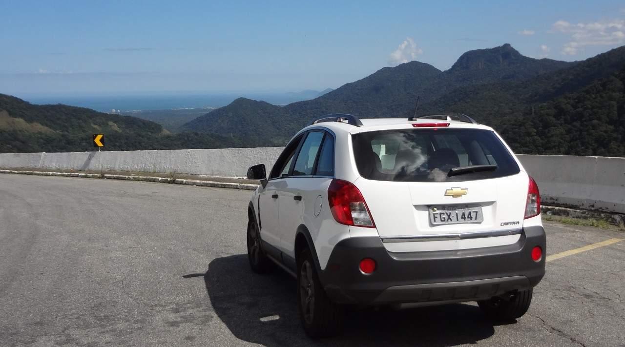 Bom veículo para viajar apreciando a paisagem
