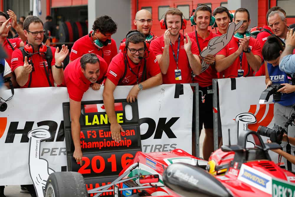 Stroll é o primeiro piloto norte-americano a vencer o Europeu de F3 (Foto FIA EuroF3)