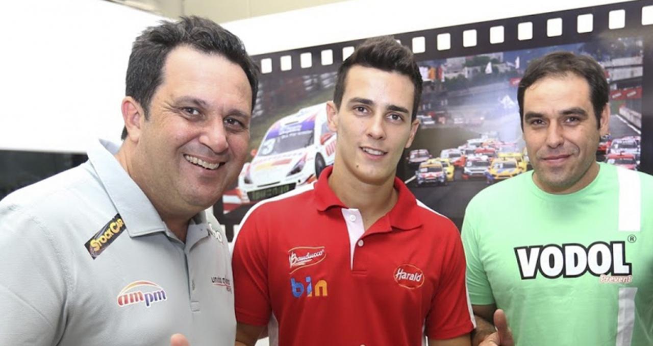 Camara (D) quer prosseguir o trabalho iniciado com Bassani (D) e Diego (Foto Luca Bassani)