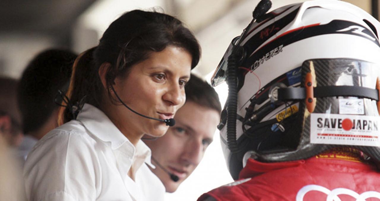 Leeda Gade foi transferida da equipe Audi para o programa de competição da Bentley (Foto Audi)