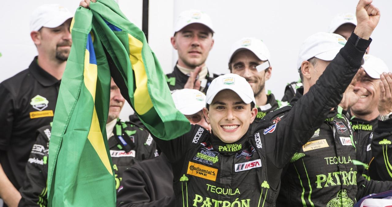 Pipo Derani, vencedor em Daytona e em Sebring, vai testar pela Toyota (Foto José Mário DIas)