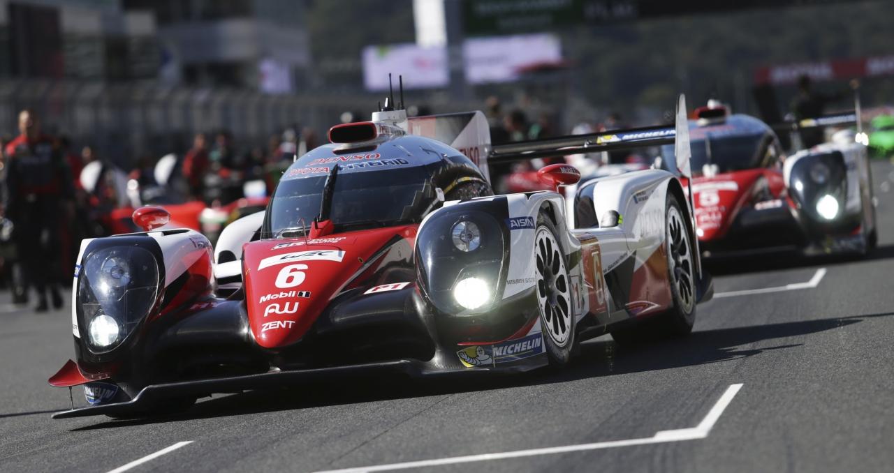 O Toyota vencedor nas 6 Horas de Fuji (Foto Toyota)