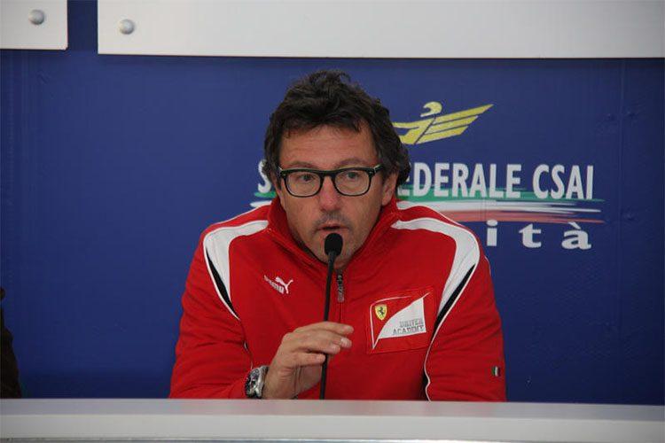 Ex-Ferrarista, Baldiserri não pouca críticas aos líderes da Scuderia (Foto Ferrari(