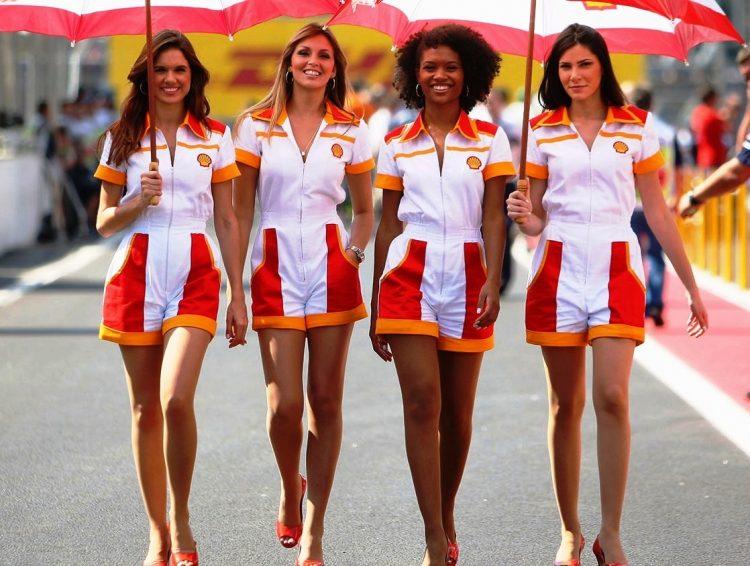 meninas do grid