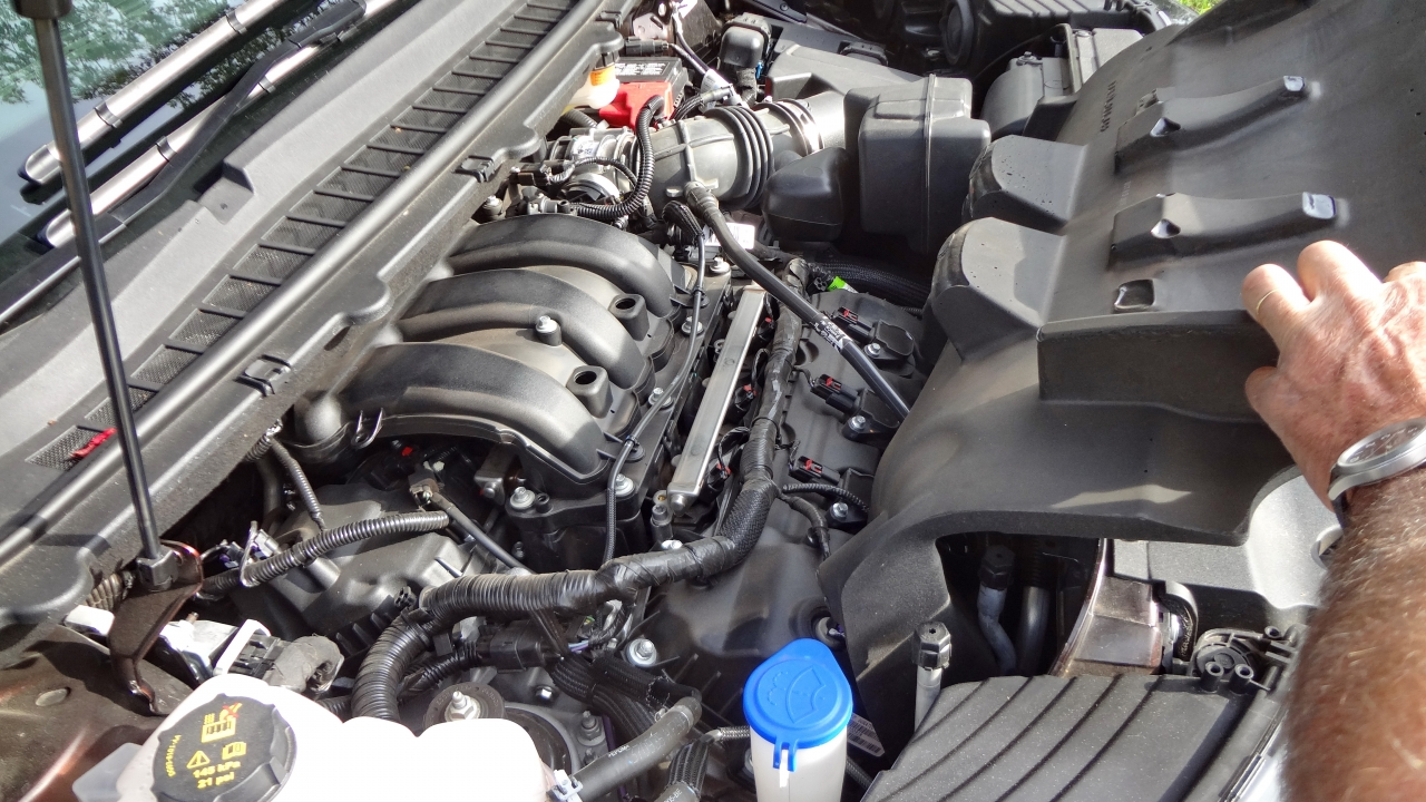 Motor V-6 de 3,5 litros rende 284 cv a 6.500 rpm