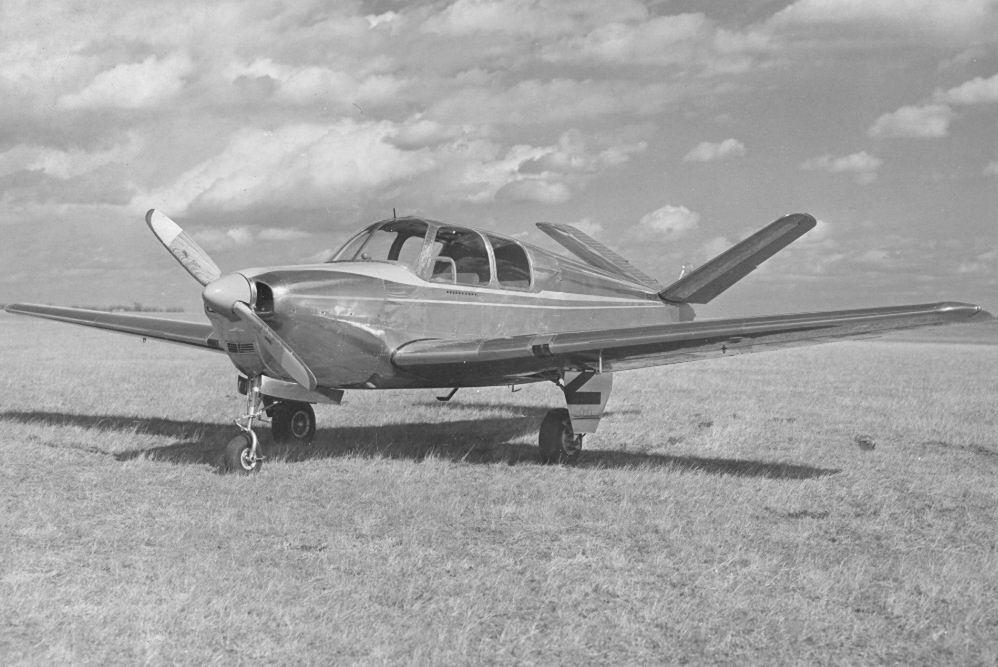 O protótipo do Beech modelo 35 de 1945 (www.thisdayinaviation.com)