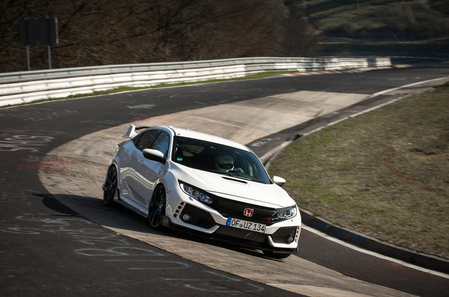 Honda Civic TypeR Nurburgring Time Attack April 2017 Worldwide Copyright:  © Patrick Gosling, Chris Brown/ Beadyeye Filename: 170403_CivicTypeR_TimeAttack _275.cr2