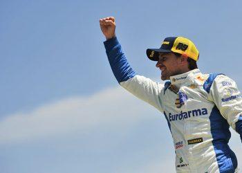 Daniel Serra, novo campeão brasileiro de Stock Car (Duda Bairros)