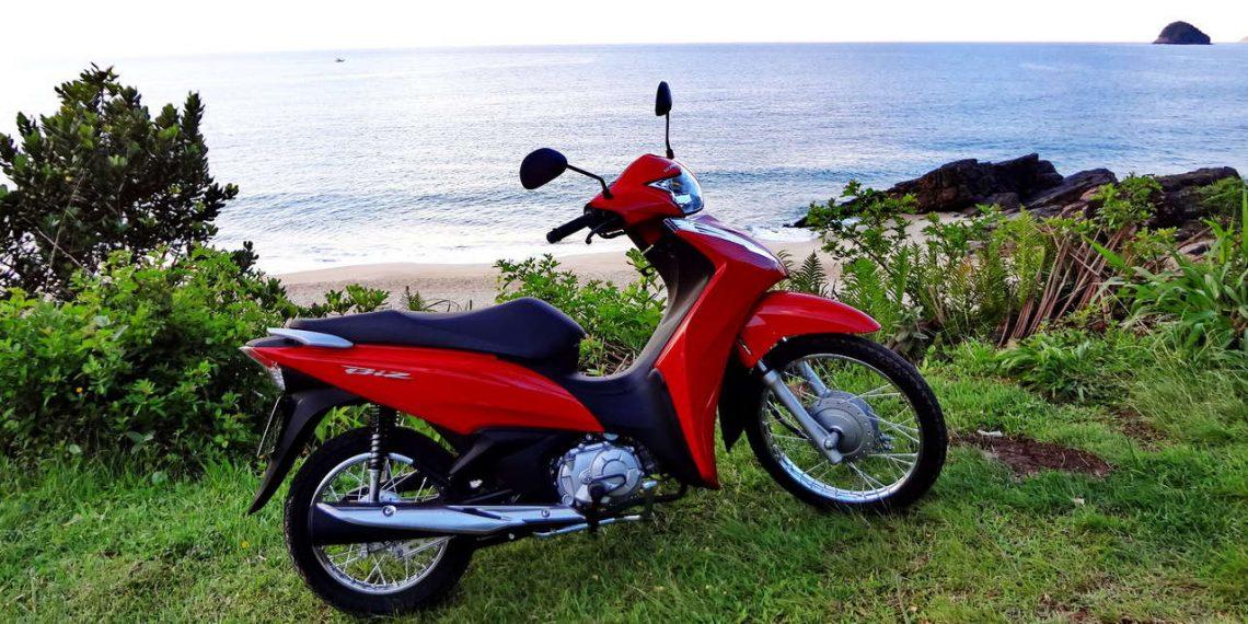 Nova Honda Biz 110i No Uso Autoentusiastas