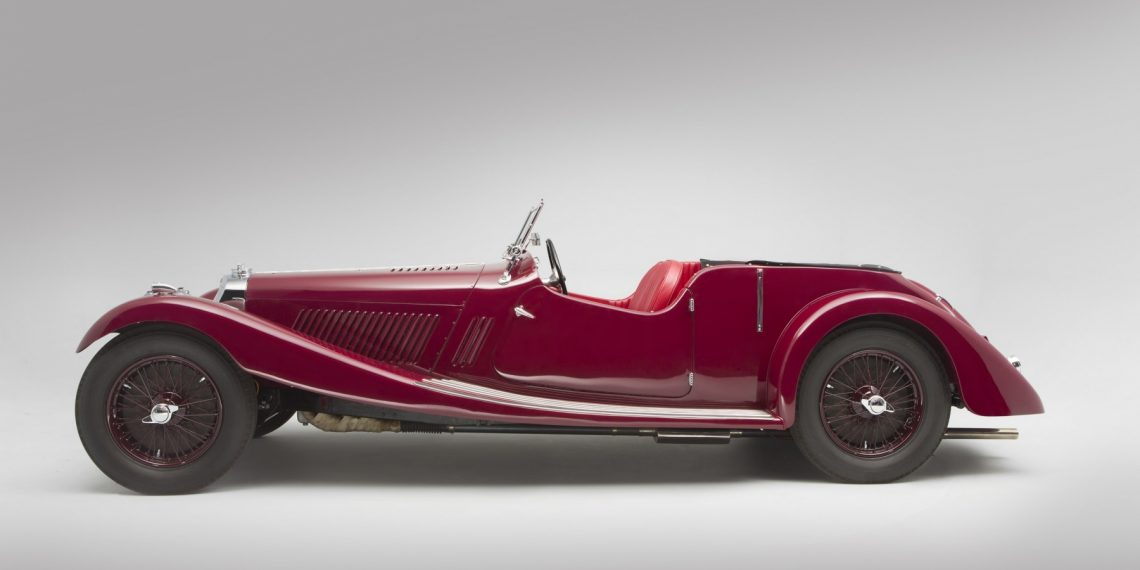 O Squire 1 1/2 litre Tourer de Ranalah, chassis longo. (Classicdriver.com)