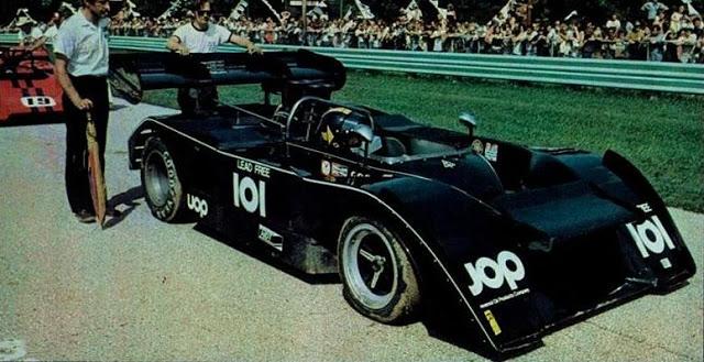 Jose Carlos Pace no Mk.III em 1972