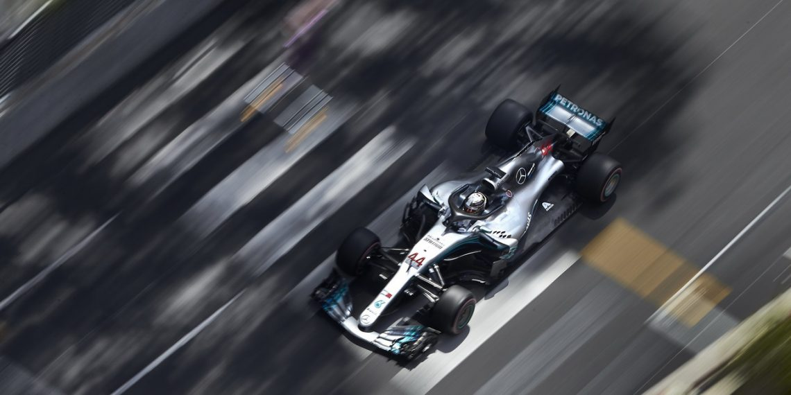 Formel 1 - Mercedes-AMG Petronas Motorsport, Großer Preis von Monaco 2018. Lewis Hamilton   Formula One - Mercedes-AMG Petronas Motorsport, Monaco GP 2018. Lewis Hamilton