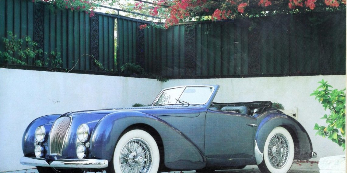 Talbot-Lago T26 Record GS 1949. Carroceria Dubos. (Automobile Quarterly)