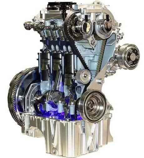 Motor 3 cilindros Ford EcoBoost