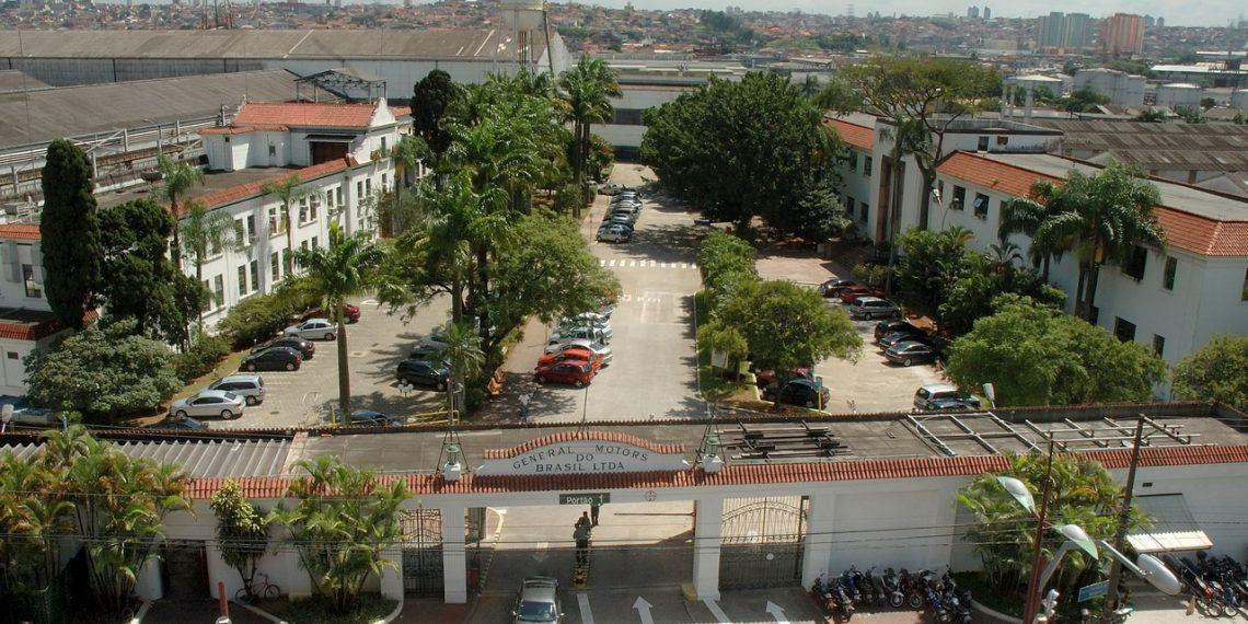 Fábrica da GM Mercosul em São Caetano do Sul, inaugurada em 1930