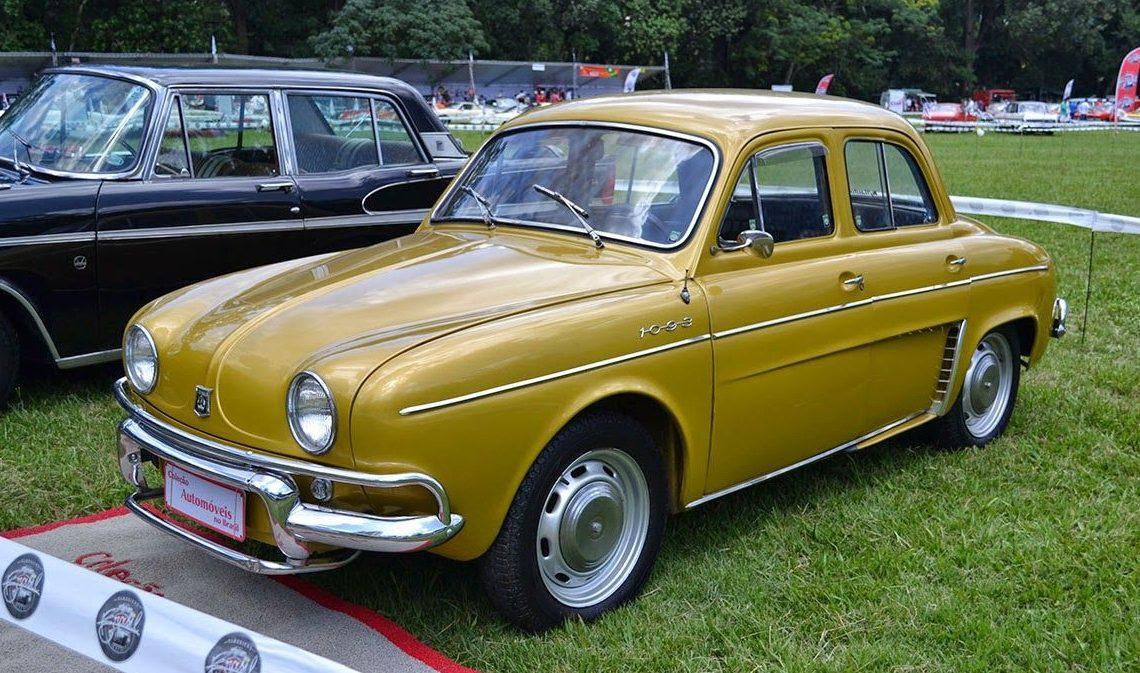 Renault 1093 O Esportivo Da Gama Dauphine Autoentusiastas