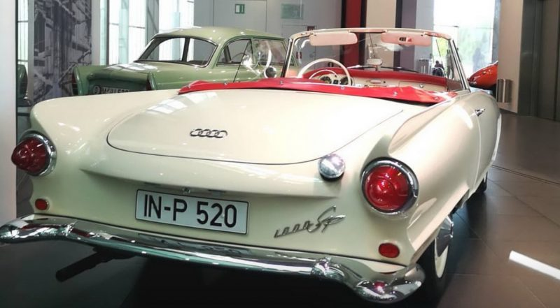 Auto Union 1000 Sp, motor 3-cilinseoa 2-twmpa de 981 cm³