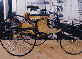 Benz-patent Motorwagen 1889 (reprodução, divulgação)