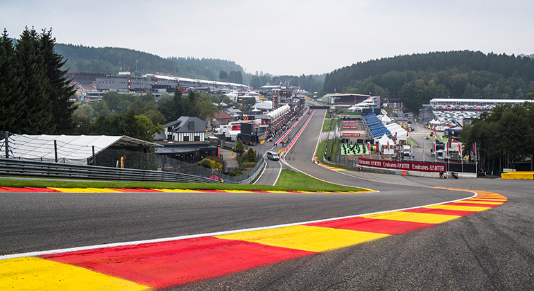 Curva Eau Rouge (Foto: Racing Point)