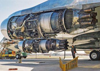 Rolls-Royce Conway em um Boeing 707 (Foto: pinterest.com)