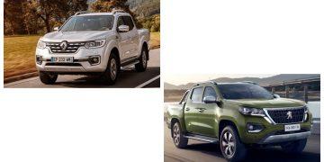 Fotos: divulgação Renault e Peugeot/Fotocomposição: A. Gromow