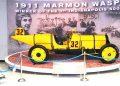Carro vencedor da primeira 500 Milhas, em 1911 (Fotos: autor)