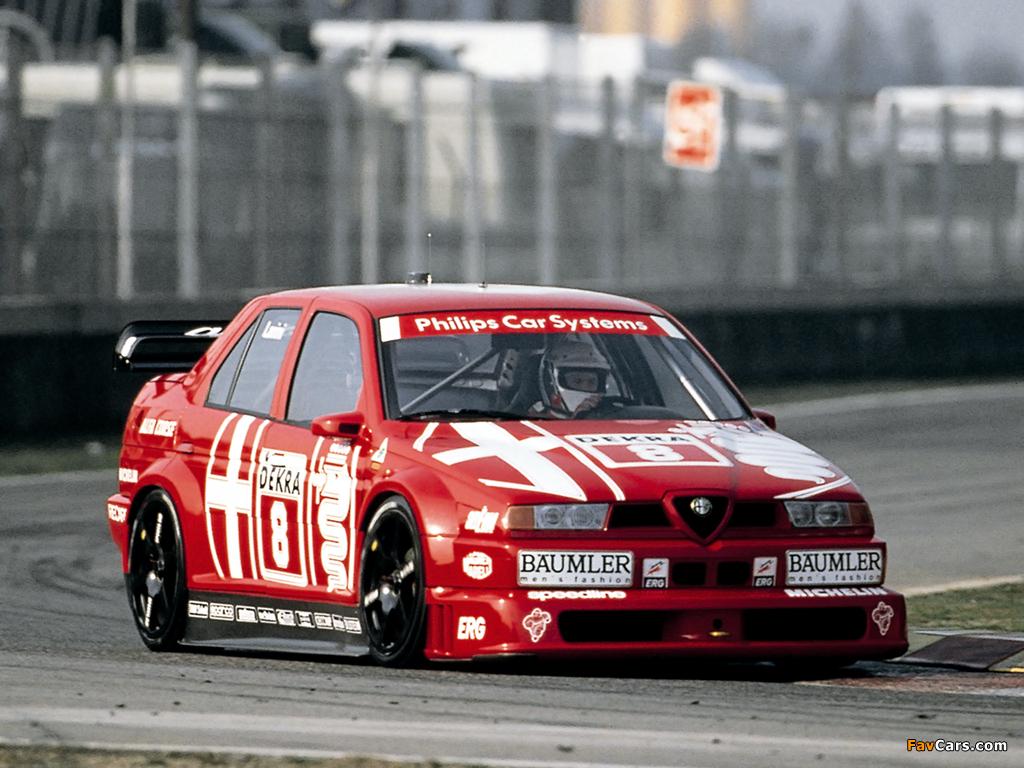 Alfa Romeo 155 V 6 Ti O Conquistador Da Bavaria Autoentusiastas