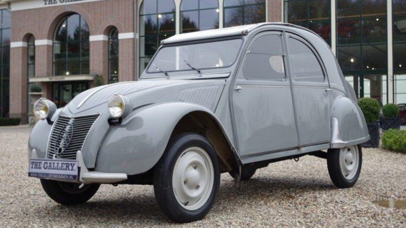 Citroën 2CV 1948 (Foto: pinterest.com)