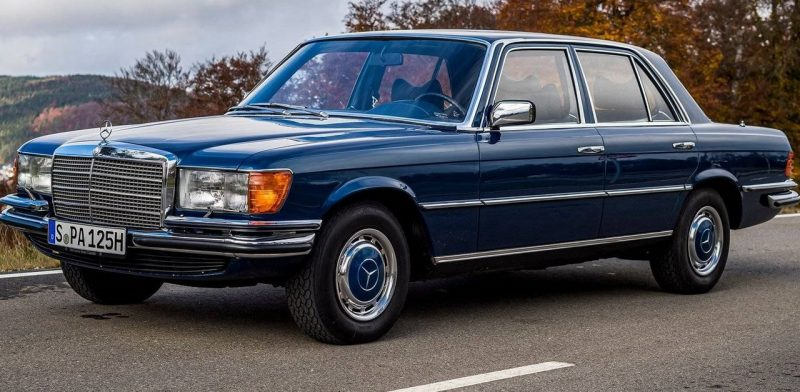 Classe S W 116 recebeu o controlador automático de velocidade em 1975