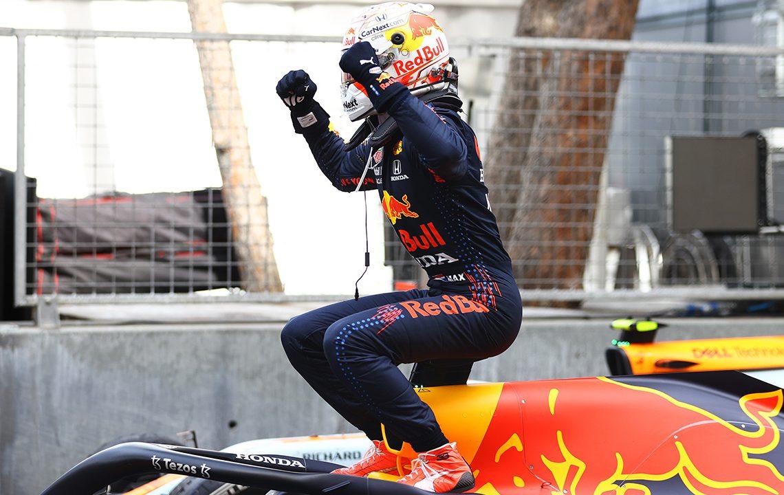 Max Verstappen venceu em Mônaco e é o novo líder do Campeonato Mundial de F1 (Red Bull)